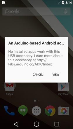 Arduino - ArduinoADK