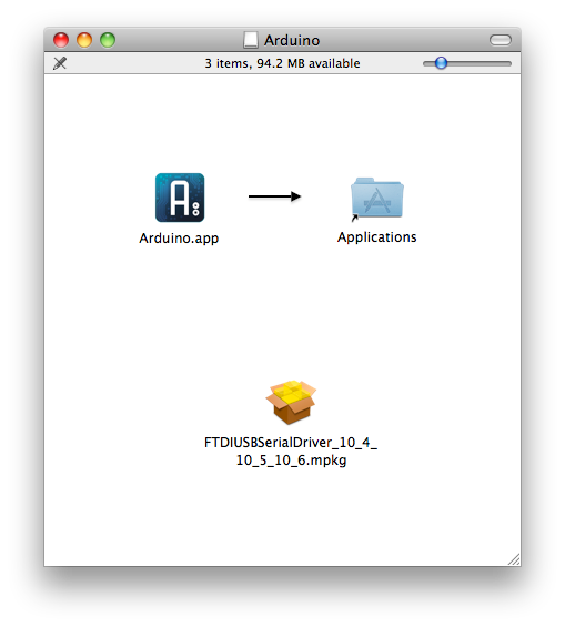 Arduino Reference - MacOSX