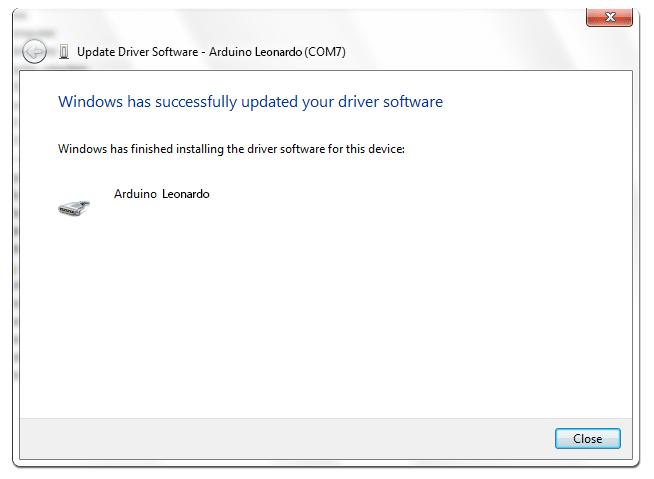 arduino uno windows 10