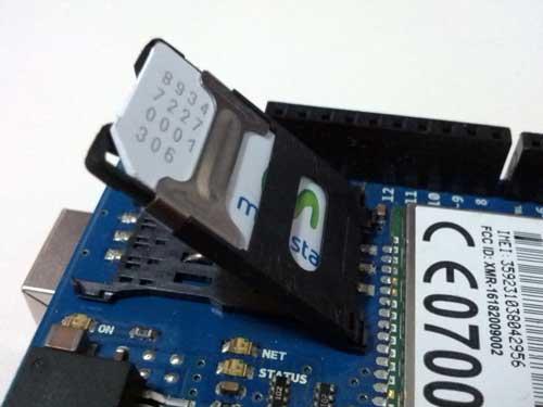 Arduino - ArduinoGSMShieldV2