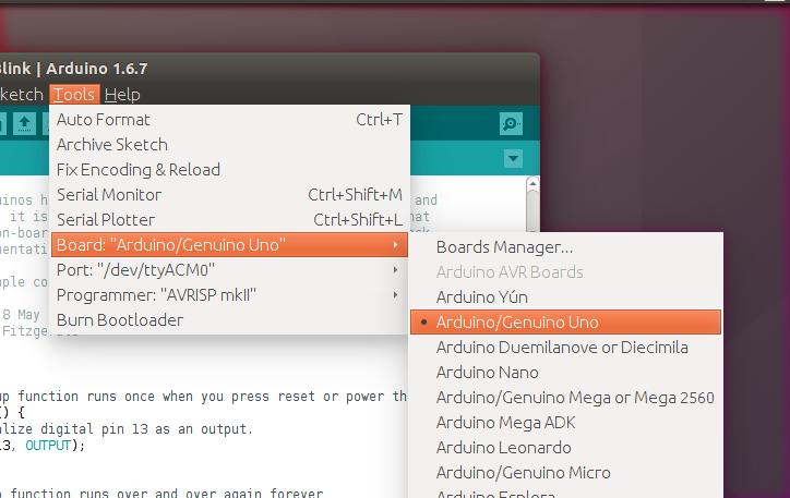 Arduino linux