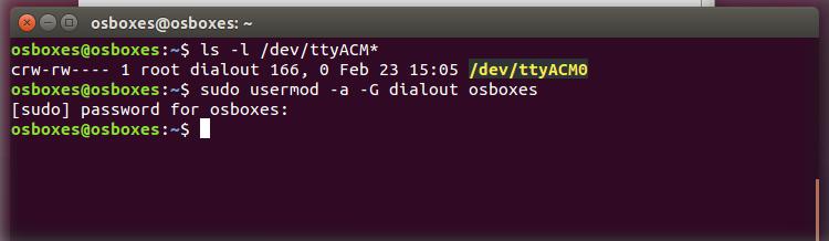 Arduino - Linux