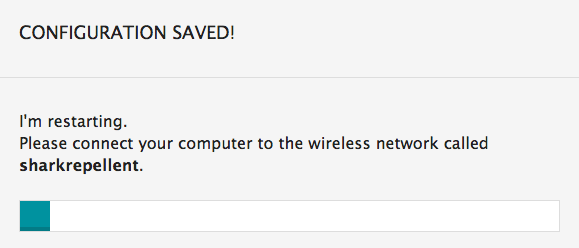 network connection resets itself