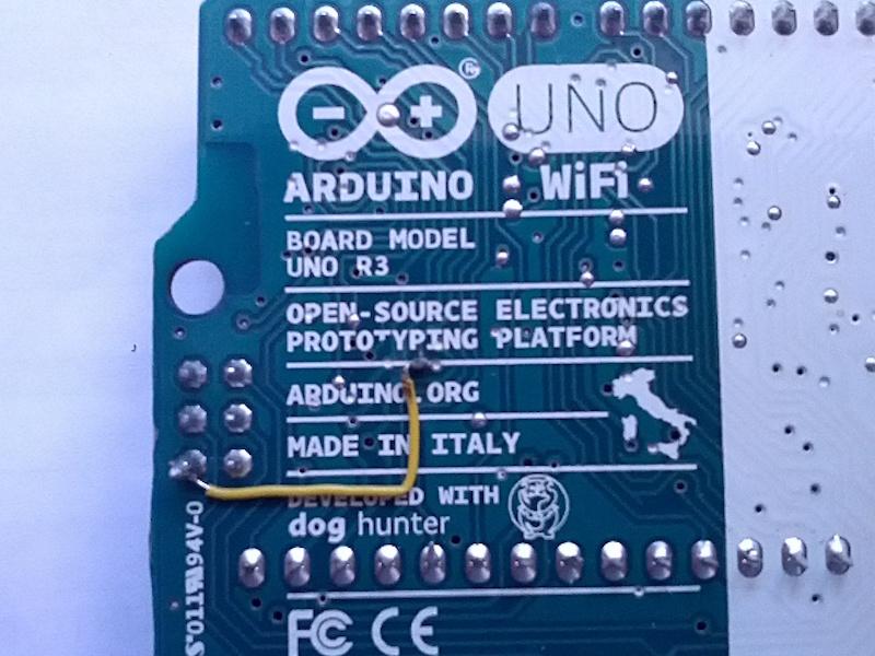 Arduino - ArduinoUnoWiFiChangeFw