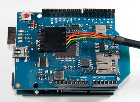 Arduino - WiFiShield32USerial