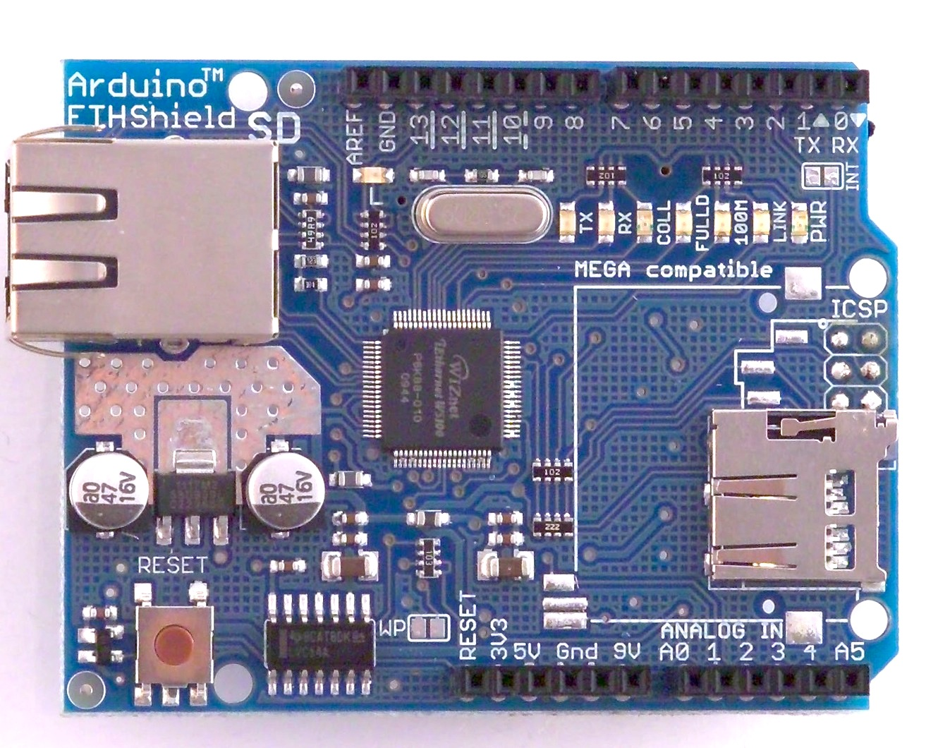 Placa Ethernet Shield