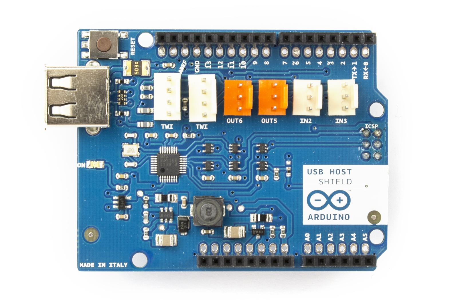 Arduino arduinousbhostshield