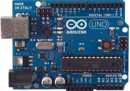 """CRO OPEN EVSE """"DIY"""" Mono et Triphasé, platines d'installation - Page 2 ArduinoUno_r2_front450px"""