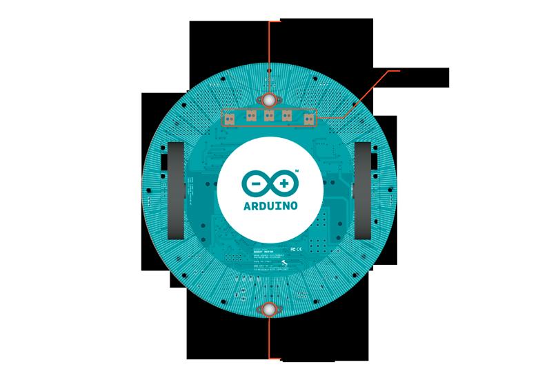 Для программирования робота требуется программное обеспечение Arduino, подробнее см. Кроме конструктора Arduino Robot...