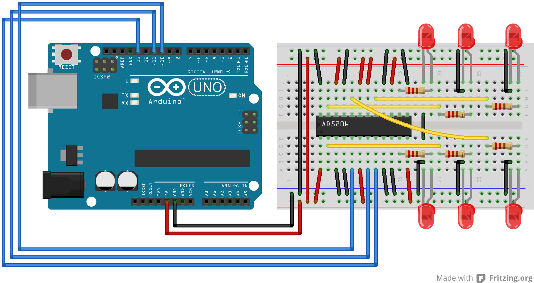 Arduino Digitalpotcontrol Using An Electrical Meter To Troubleshoot Wiring Problems Youtube Circuit