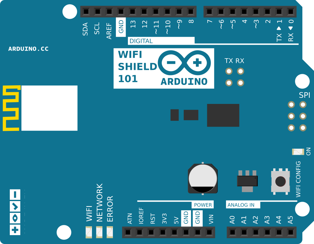 Arduino Wifi101connectwithwep Project On Electric Circuit Code