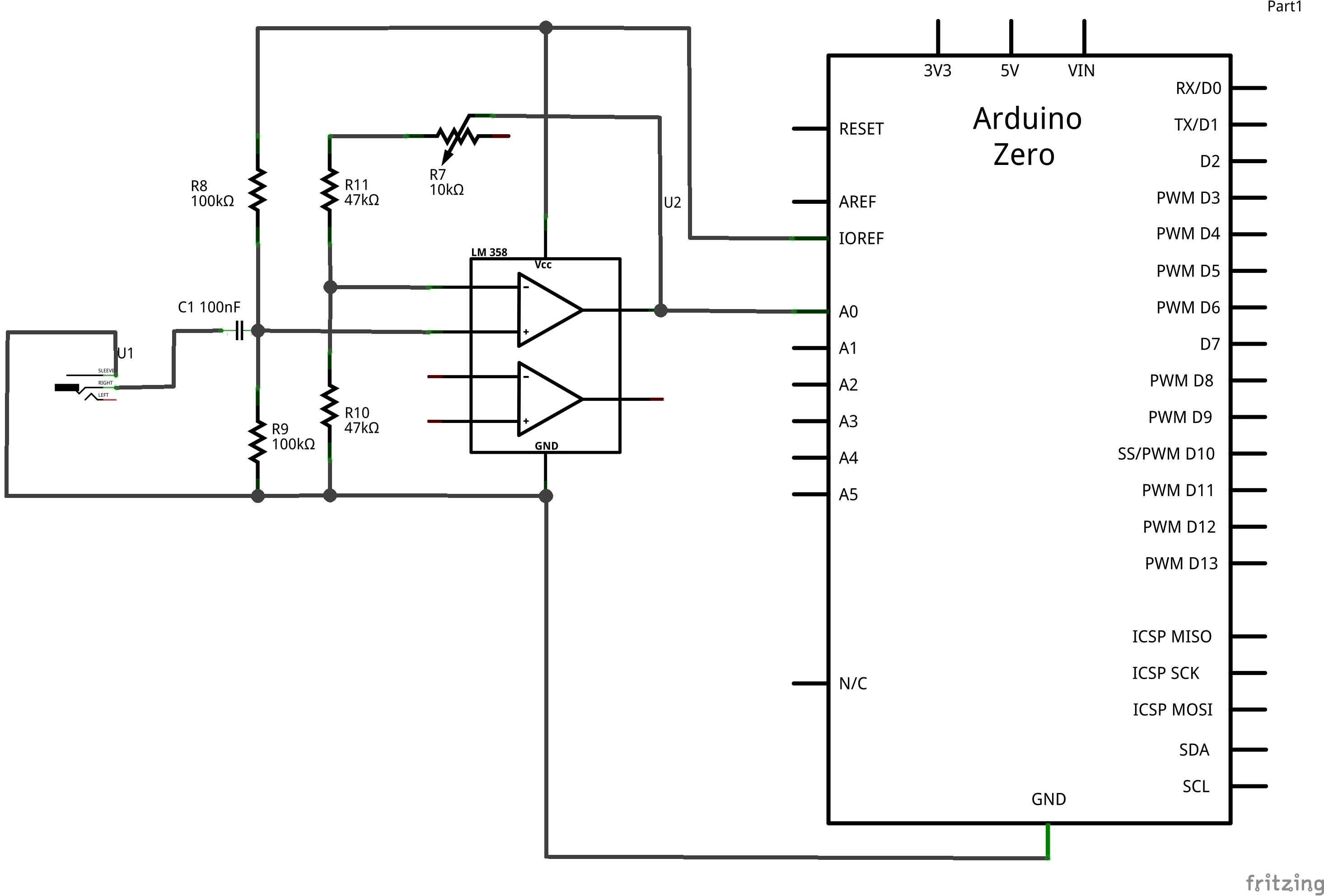 arduino frequency counter circuit diagram