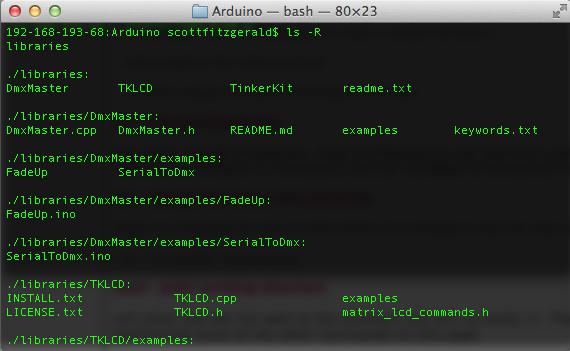 Arduino - LinuxCLI
