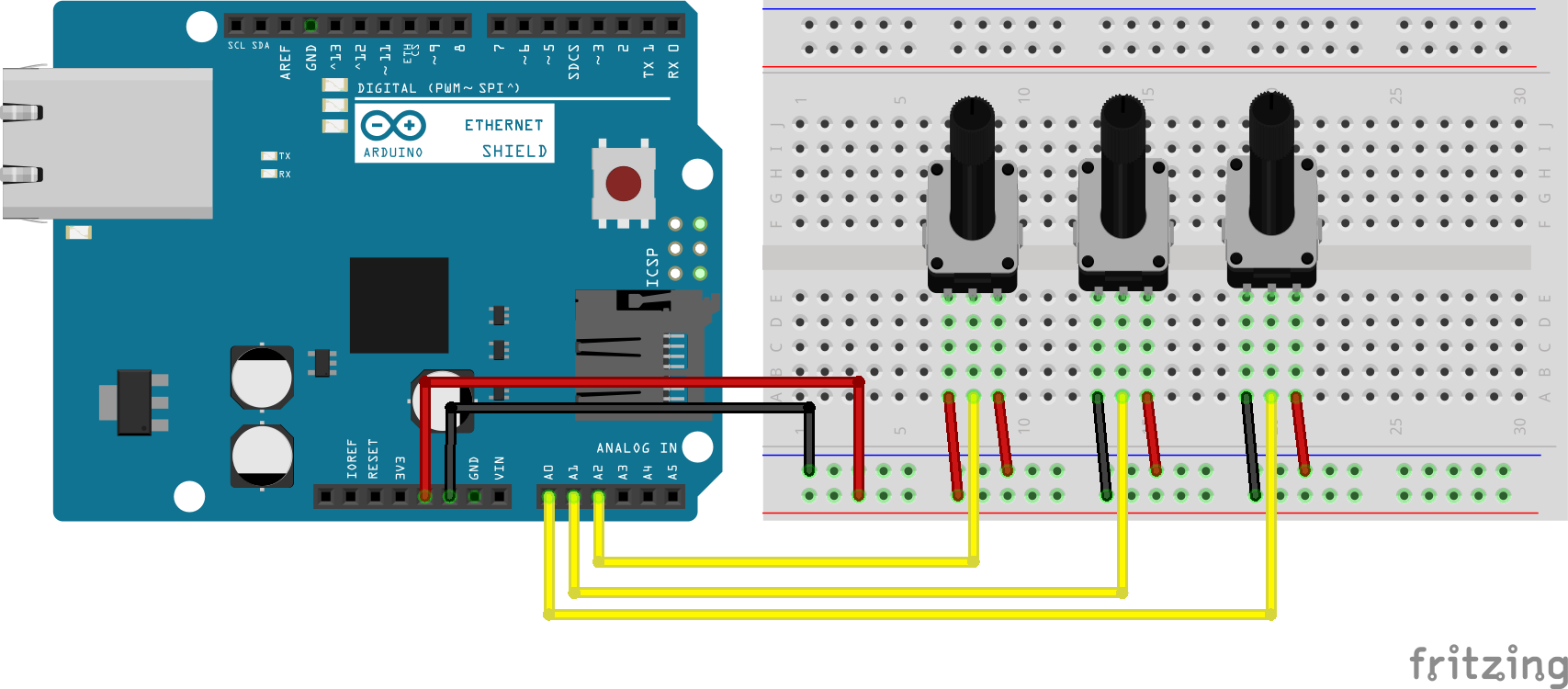 arduino sensor shield external power pdf