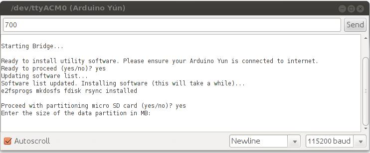 Arduino - ExpandingYunDiskSpace
