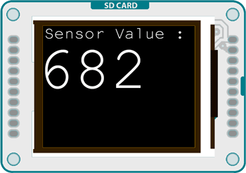 Arduino - TFTDisplayText