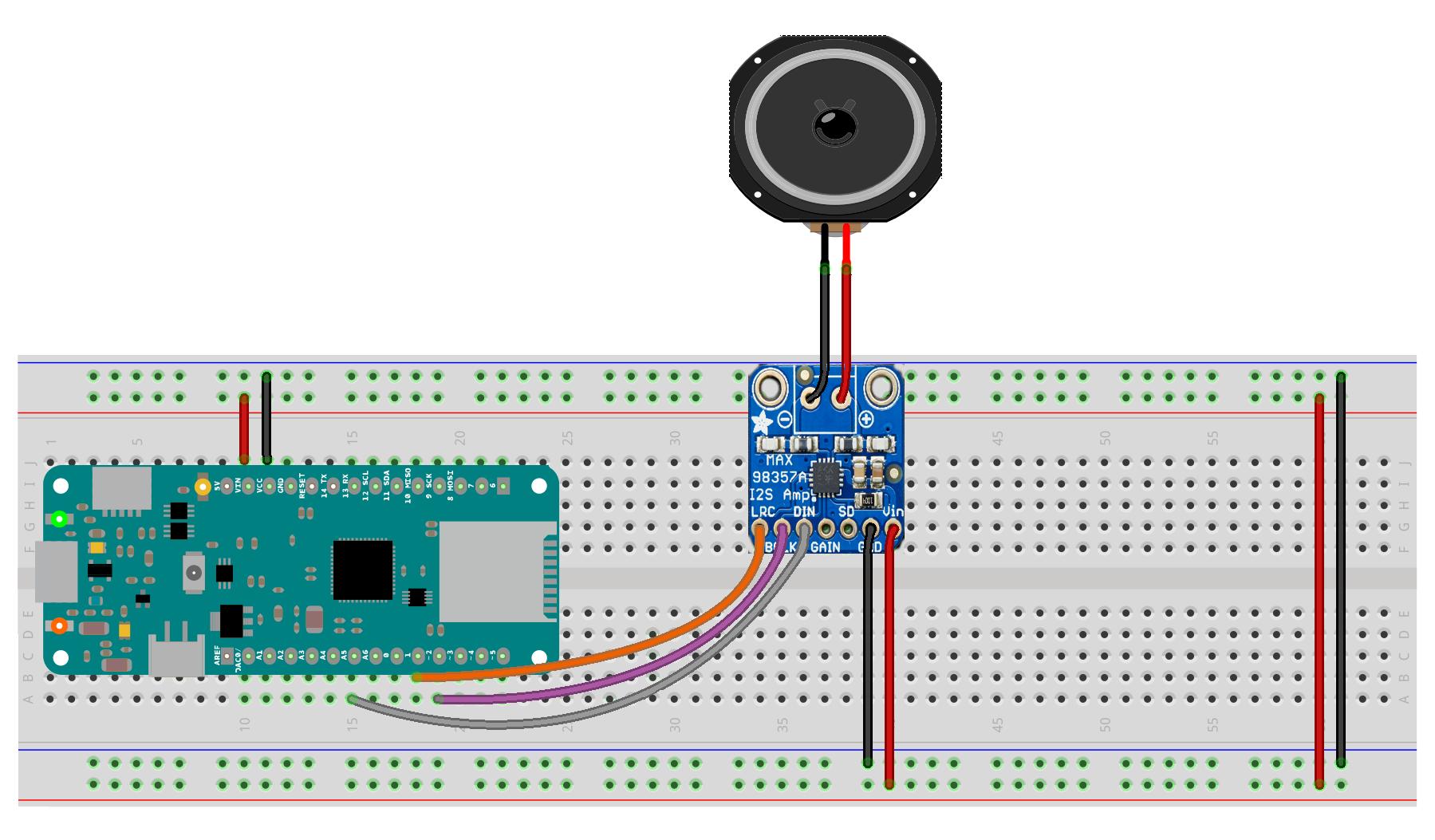 Arduino - I2SSimpleTone