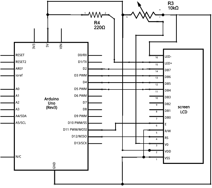 arduino helloworld schematic