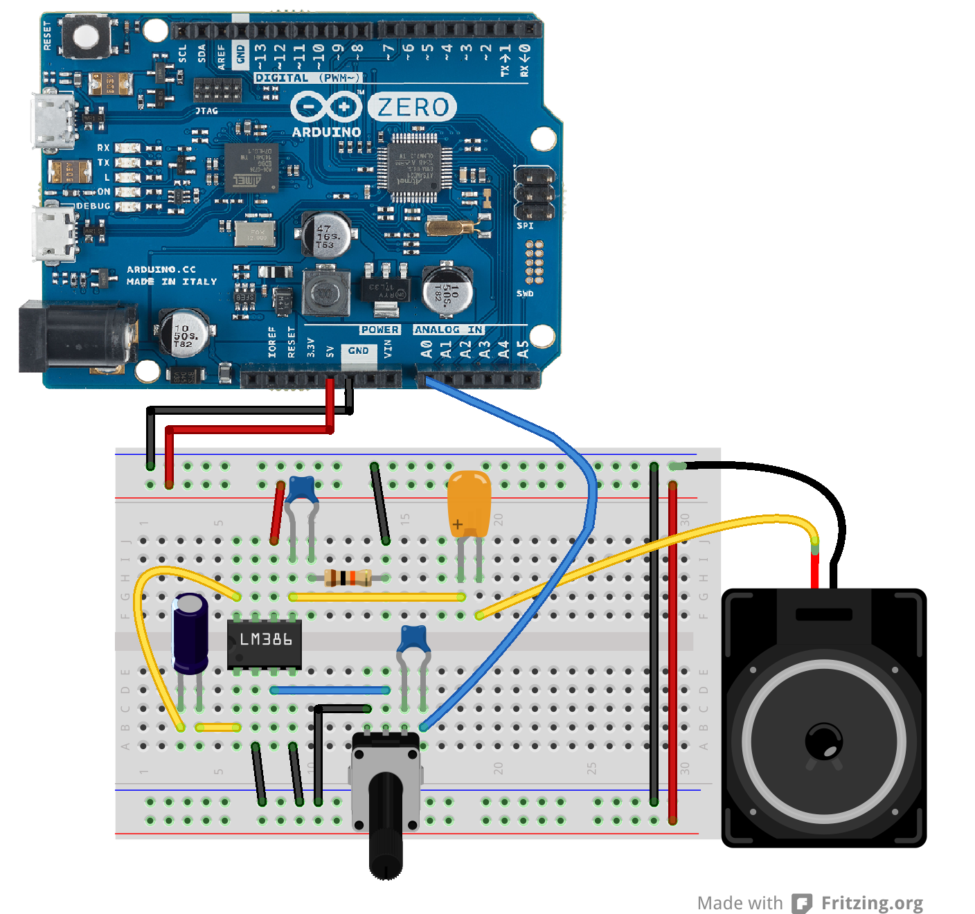 Arduino Simpleaudioplayerzero How To Make A Simple Circuit Audio Player