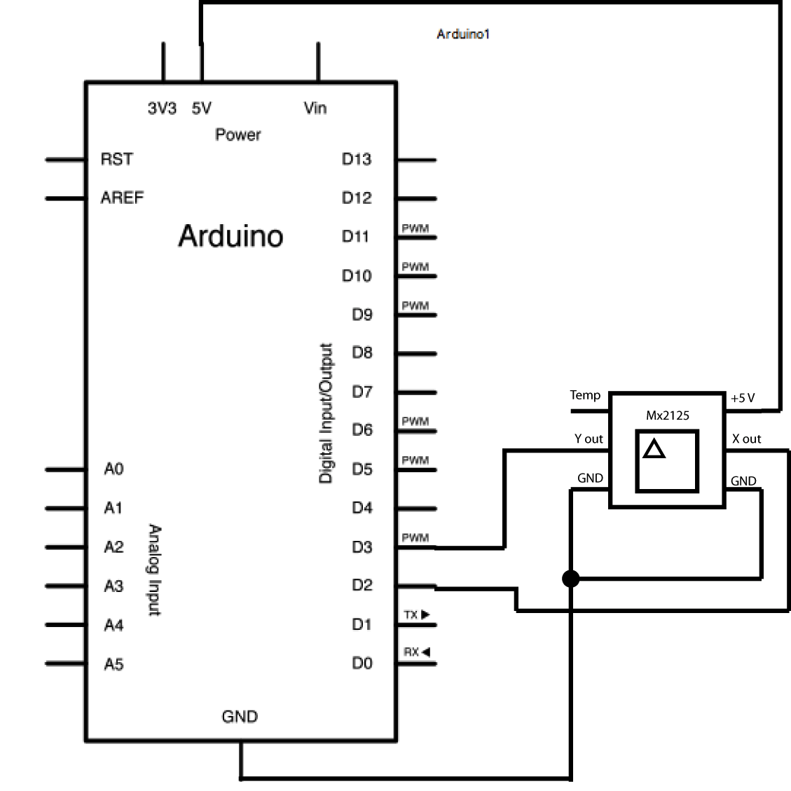 Mx2125_schem arduino memsic2125 Basic Electrical Schematic Diagrams at fashall.co