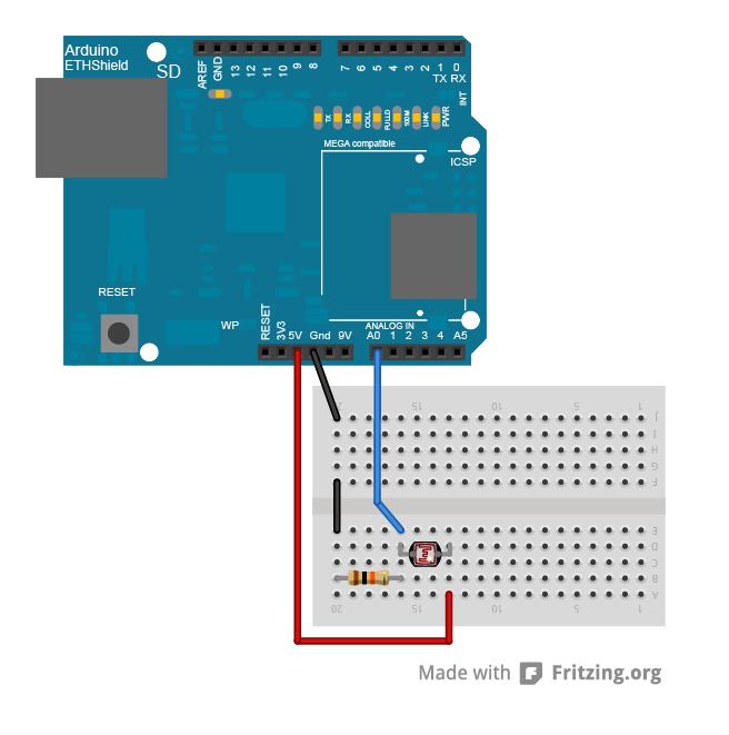 Arduino - PachubeCient