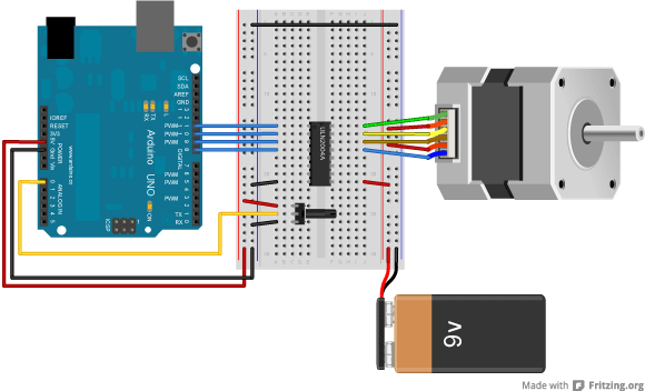 Arduino Stepperspeedcontrol