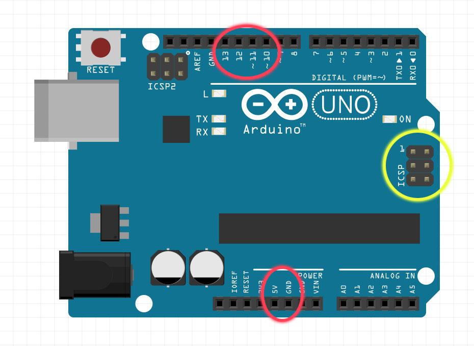 Arduino arduinoisp