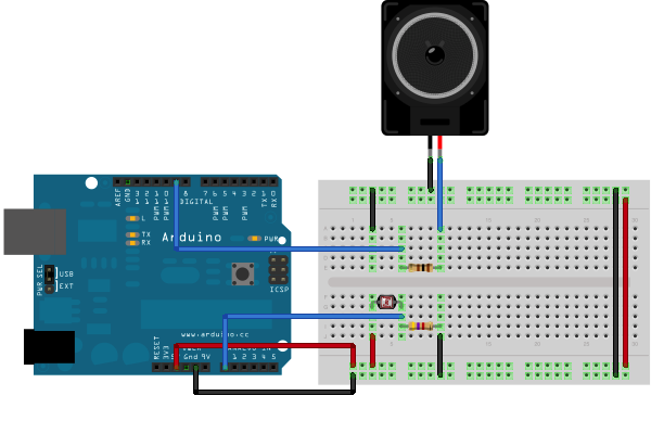 arduino tonepitchfollower