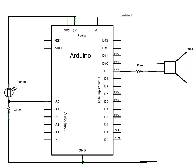 arduino speaker circuit wiring diagram u2022 rh tinyforge co Arduino Relay Wiring Diagram Arduino SSR Wiring-Diagram