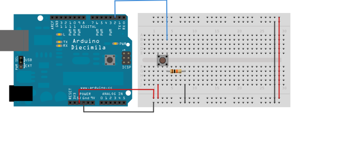 arduino button circuit