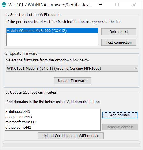Arduino - FirmwareUpdater