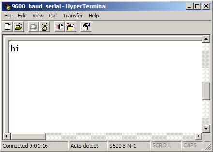Arduino - ArduinoSoftwareRS232