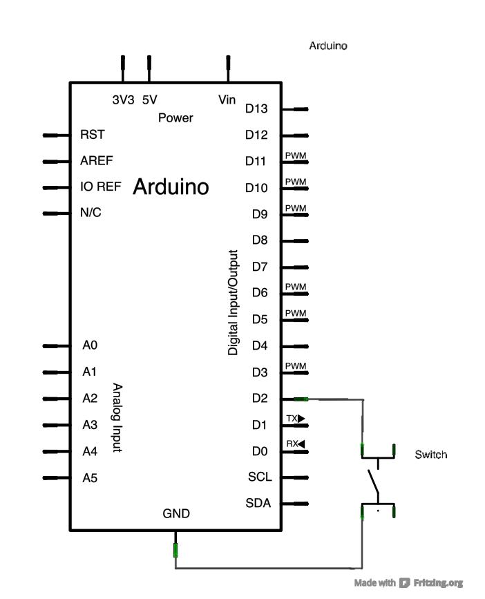 arduino inputpullupserial schematic