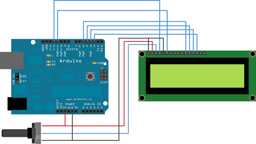 Displaying Twitter feed without a PC! using Arduino -Use
