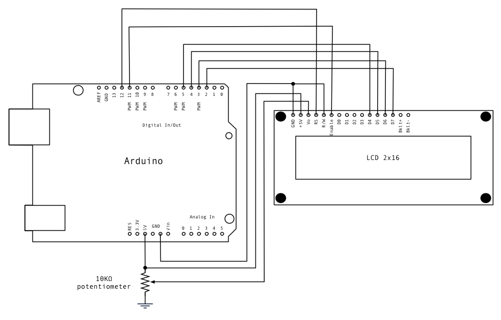 Arduino and MCP23017 example Arduino Products