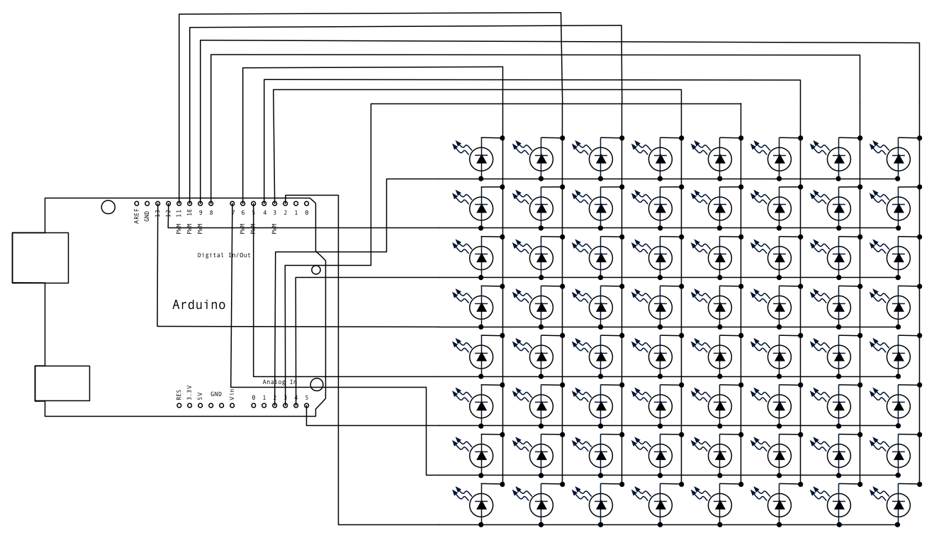 Traffic Schematic besides Potentiometer To Led furthermore Led Strips Ledstripfet furthermore Rowcolscan Schem as well Px. on arduino rgb led schematic