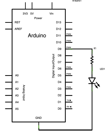 Arduino - Fade on arduino circuit schematic, arduino led schematic, arduino mini schematic, arduino uno schematic, attiny85 schematic, arduino r3 schematic, arduino board schematic, photocell schematic, arduino ethernet schematic, arduino pro schematic, arduino mega schematic, arduino shield schematic, speaker schematic, arduino micro schematic, arduino schematic pdf, breadboard schematic, arduino lcd schematic, arduino pinout diagram, ultrasonic schematic, arduino relay diagram,