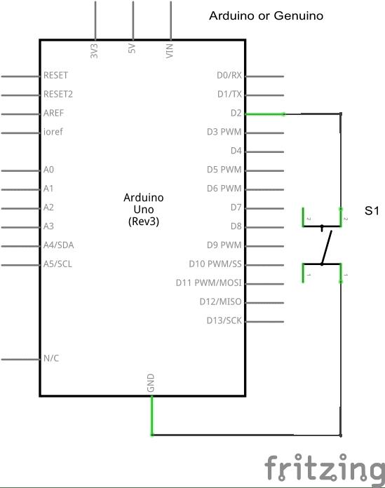 digital input pullup resistor  arduino